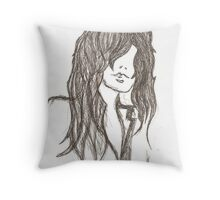 Meg. Throw Pillow