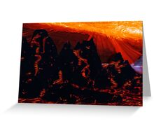 Planet Icarus Greeting Card