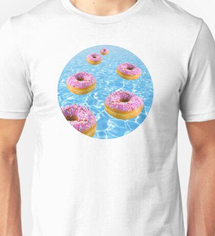 Donut Float Unisex T-Shirt