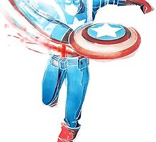 Captain America by razzan