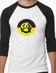 Voluntaryism is Anarchy Men's Baseball ¾ T-Shirt