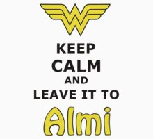 Leave It to Almi Kids Tee
