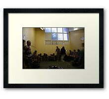 ...from the jaws of victory Framed Print