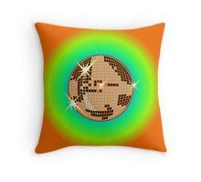 Disco Mirrorball Throw Pillow