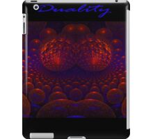 Duality iPad Case/Skin