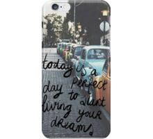 Live Your Dreams iPhone Case/Skin