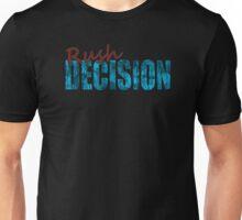 Rush Decision Blue Rust Unisex T-Shirt