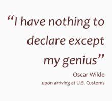 Declaring genius... (Amazing Sayings) Kids Clothes