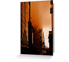 Dark City Greeting Card