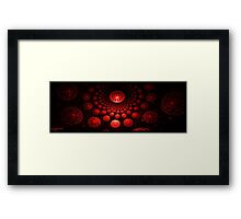 Flashbacks of Mars Framed Print