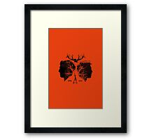 True Partners Framed Print