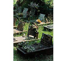 Cimitero Photographic Print