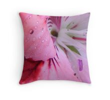 pelargonium number 2 Throw Pillow