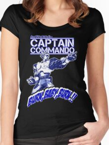 The Captain 02 Women's Fitted Scoop T-Shirt