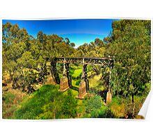 Green - Gundagai, NSW Australia - The HDR Experience Poster