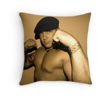How about I Biff you in da head? Throw Pillow