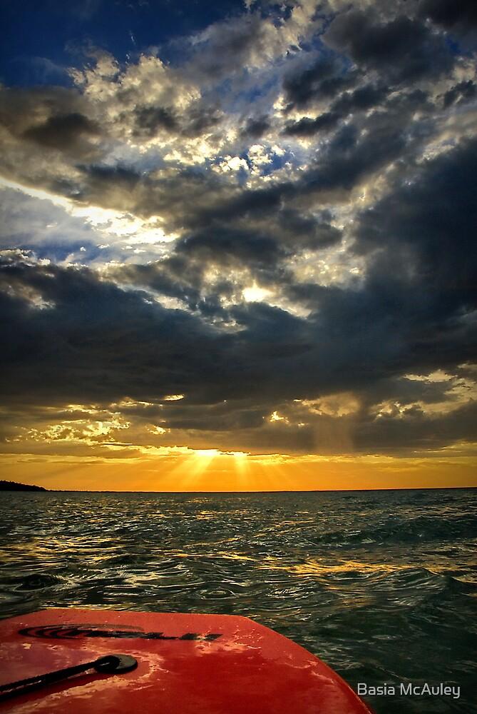 My sunset by Basia McAuley