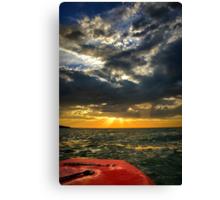 My sunset Canvas Print