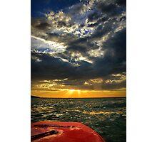 My sunset Photographic Print