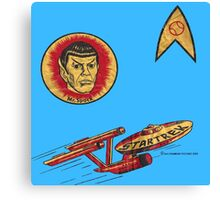 Spock Star Trek Costume from 1975 (yes, really) Canvas Print