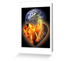 love of the earth and for you all Greeting Card