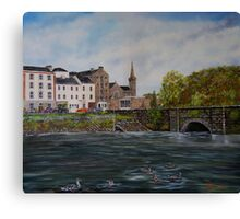 """Kilrush - Cill Rois"" - Oil Painting Canvas Print"