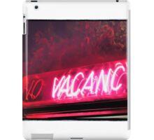 Vacancy iPad Case/Skin