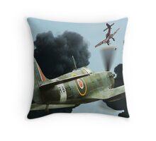 Stuka Attack ! Throw Pillow