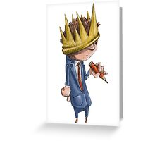 Prince of the Pencil Greeting Card