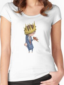 Prince of the Pencil Women's Fitted Scoop T-Shirt