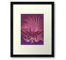 Pink summer Framed Print