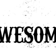 World Most Awesome Brother Sticker