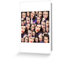 Miranda Sings' Face Greeting Card