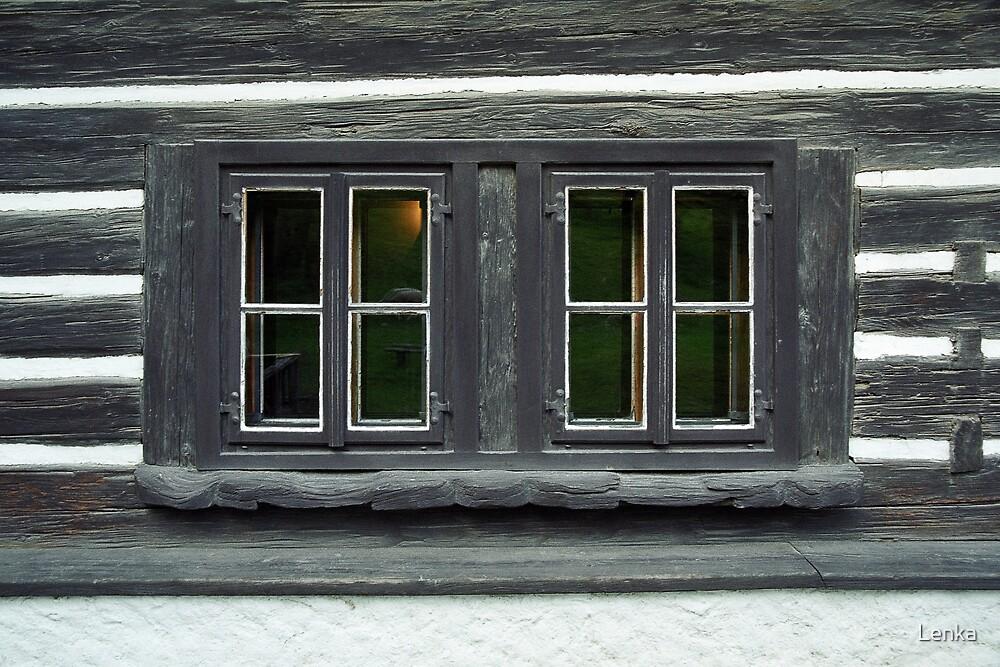 Eyes of an old house by Lenka
