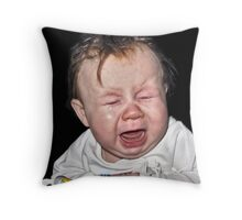 Someone's having a bad day 2 Throw Pillow