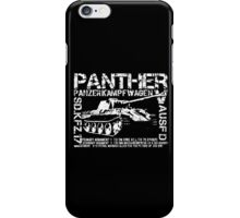 Panther Tank iPhone Case/Skin