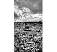 Broken way Photographic Print