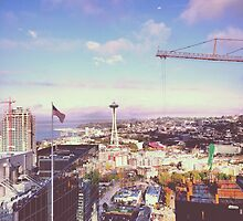 Space Needle on Memorial Day Weekend // Seattle, WA by pizzazzdesign