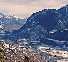 Rhine Valley-Switzerland – Alpes  by GOSIA GRZYBEK
