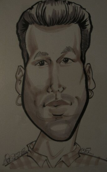 caricature of me. by airmoe69
