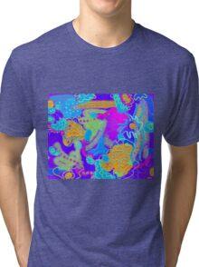 Mess In the Garden Tri-blend T-Shirt