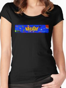 ARCADE! Women's Fitted Scoop T-Shirt