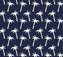 Palm Trees: Navy by CPDS