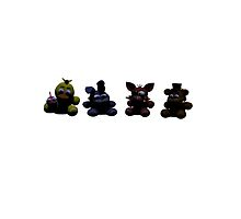 FNAF 2 plushies (No Text) by YZhoodies
