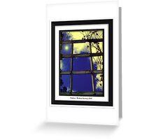 Window to Heaven #2 Greeting Card
