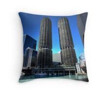 Marina Towers Throw Pillow