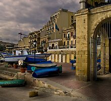 St Julian's Harbour Study by Edwin  Catania