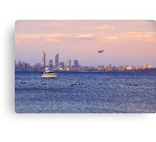 Perth City - Australia Day  Canvas Print