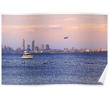 Perth City - Australia Day  Poster