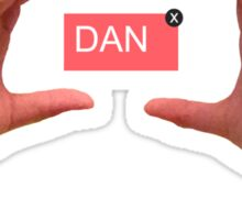 Hello, My Name is [Dan] Sticker